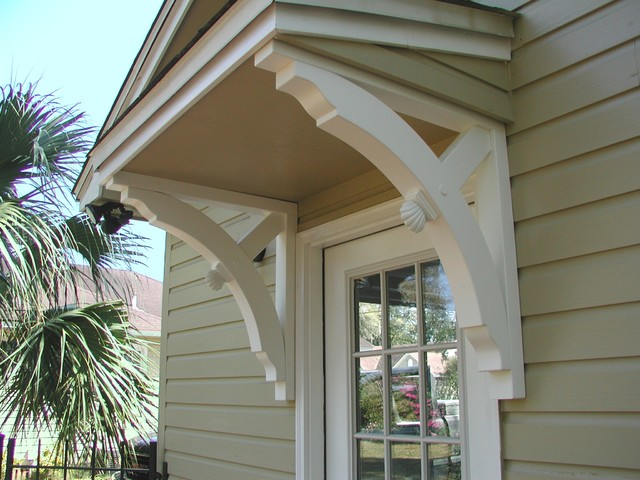 Large Builder Brackets Traditional Exterior Miami