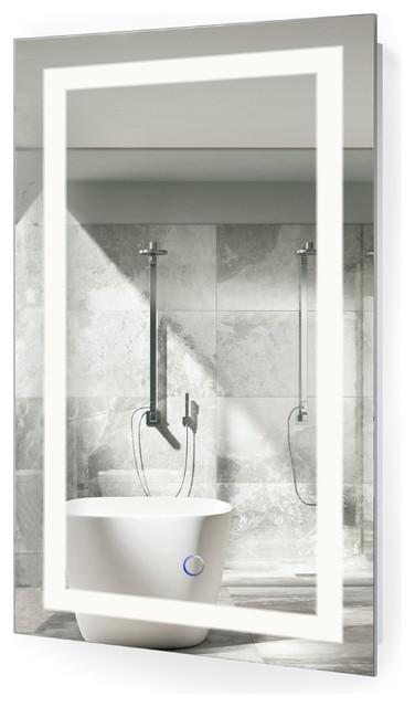 LED Bathroom Mirror With Wall Mount Modern Bathroom