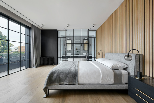 Princes Hill Residence contemporary-bedroom