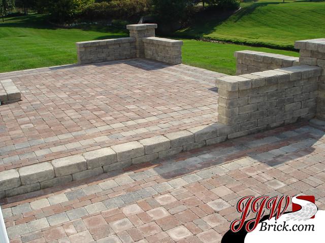 Paver Patio Designs - Traditional - Patio - detroit - by ... on Brick Paver Patio Designs  id=58986