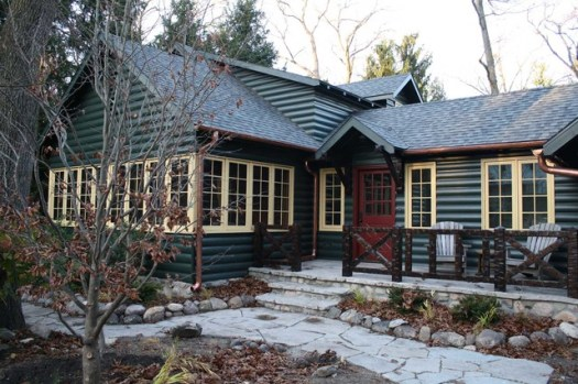 The Cabin Rustic Exterior