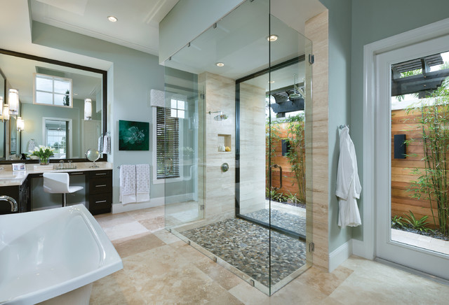 Model Home Interior Design - Ravenna 1291 - Transitional ... on Bathroom Model Design  id=81633