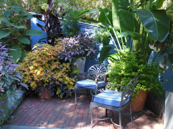 tropical outdoor patio Tropical Garden Design - Tropical - Patio - Other - by www