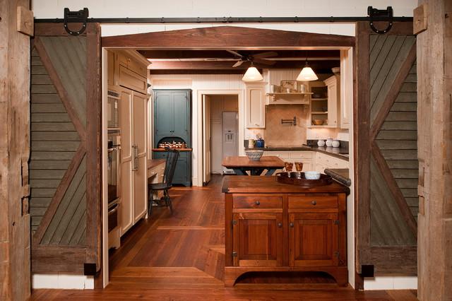 Rustic Elegance - Durham, NC - Farmhouse - Kitchen ... on Rustic Farmhouse Kitchen  id=28878