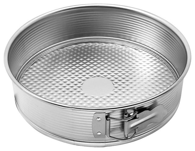 Zenker Tin Plated Steel Springform Pan, 7-Inch