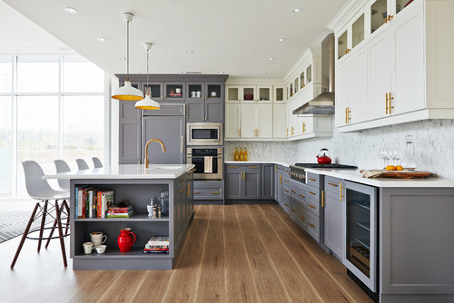 Hot Home Trend To Watch: The Two Toned Kitchen