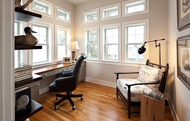 Outer Banks Beach House Traditional Home Office DC Metro By Details Interiors LLC