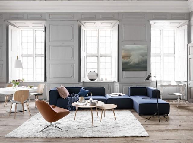Carmo Sofa Boconcept Modern Fabric Sectional