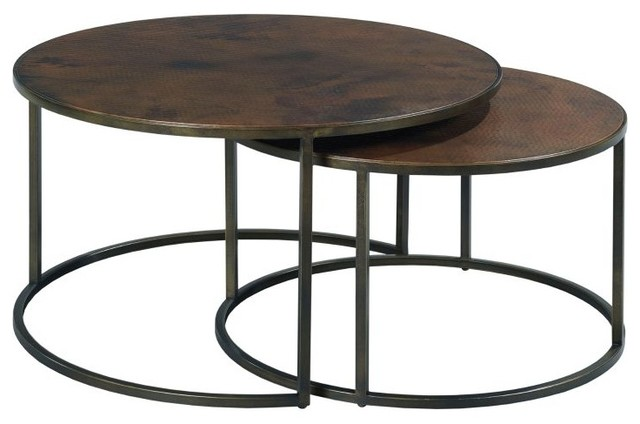 Hammary Sanford Round Cocktail Table