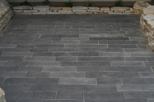 Are These Pavers Or A Concrete Stamp Or Something Else