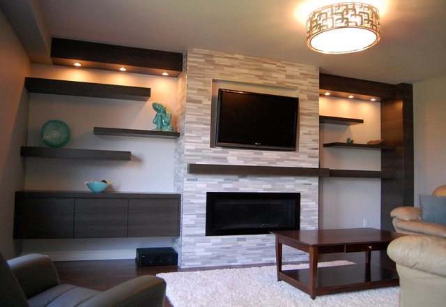 Wall Units - Contemporary - Living Room - Toronto - by ... on Living Room Wall Units id=38367