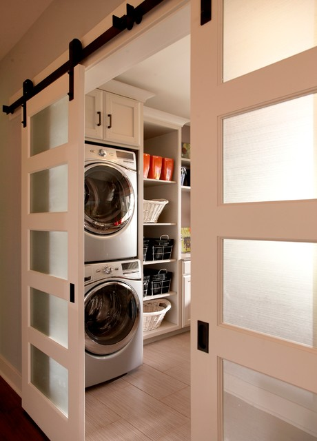 Model Home traditional-laundry-room