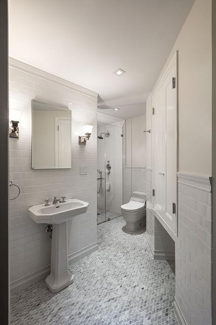 Pre-War Apartment - Traditional - Bathroom - New York - by ... on Apartment Bathroom  id=56575