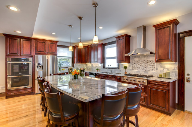 Granite Countertops With Cherry Cabinets BSTCountertops