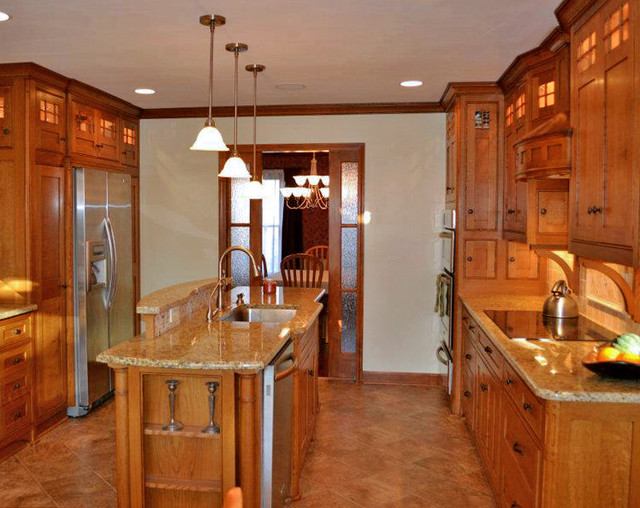Craftsman Style Kitchen Traditional Kitchen Other