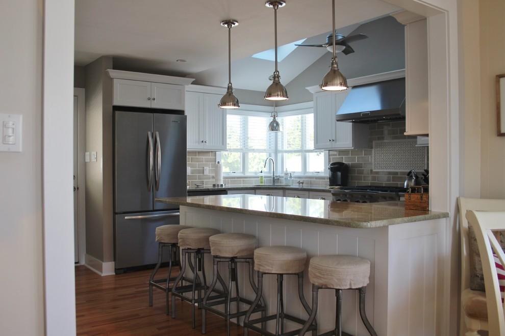 Coast Green Granite Kitchen Countertop - Farmhouse ... on Farmhouse Granite Countertops  id=43625
