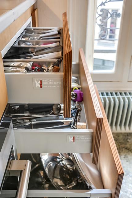 rangement cuisine les tiroirs de