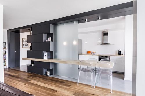 per un open space cucina soggiorno dallo stile industrial, essenziale e molto urban, potresti prendere esempio dalla foto qui in basso. Come Dividere Cucina Da Soggiorno Idealista News