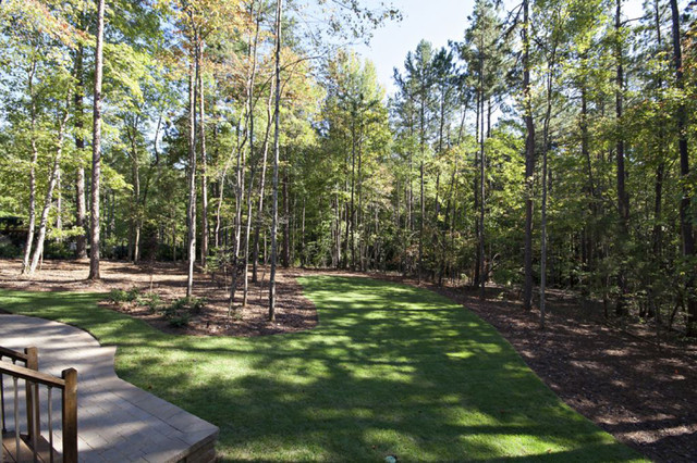 Wooded backyard - Traditional - Landscape - Raleigh - by ... on Wooded Backyard Ideas id=74266