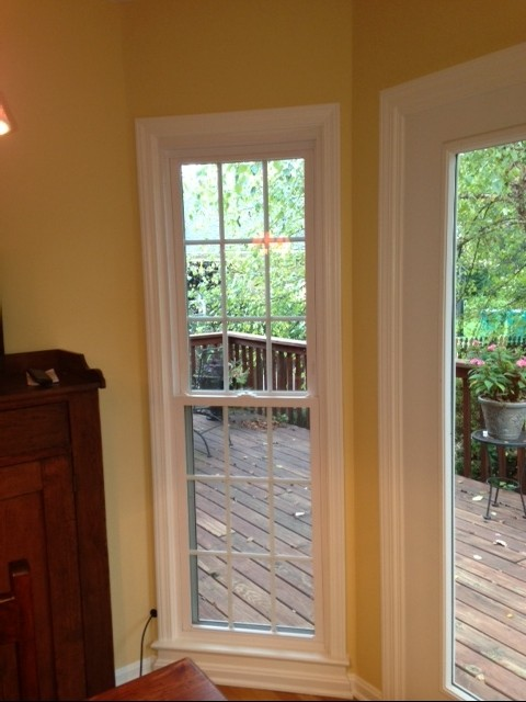 Window Treatment For Bay Windowdoor Combo