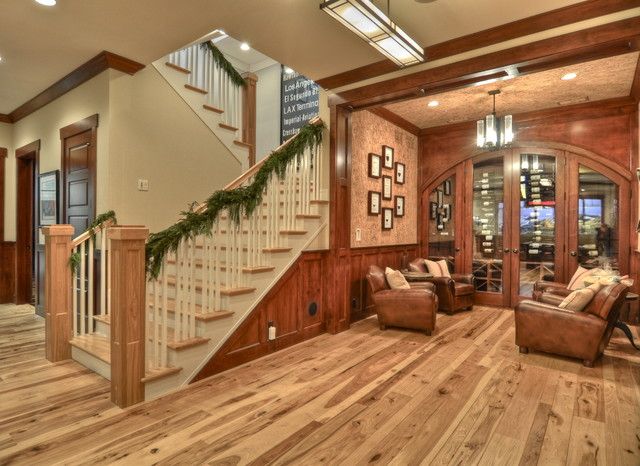 LuAnn Development craftsman-basement