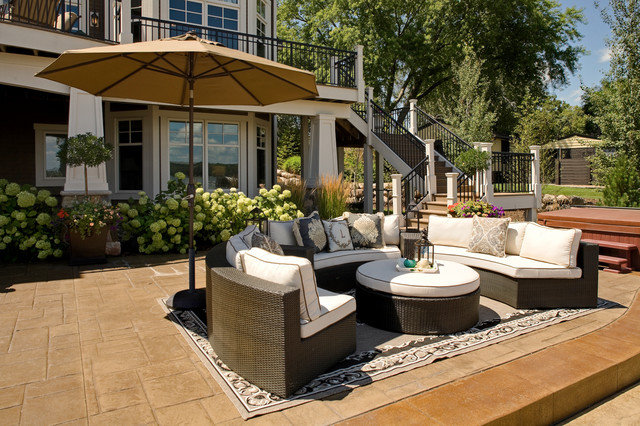 Casual Outdoor Living - Contemporary - Patio - minneapolis ... on Casual Living Patio id=56070