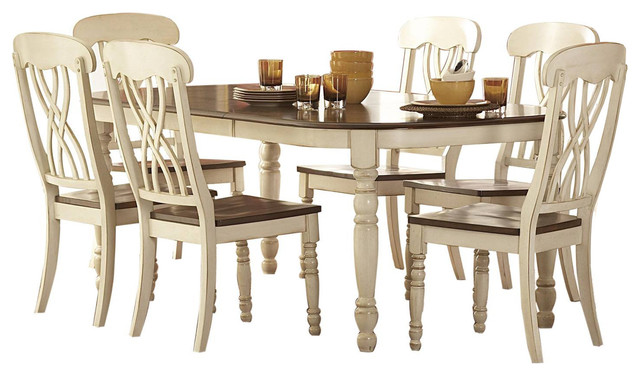 Homelegance Ohana 7 Piece Dining Table Set Traditional Dining Sets By Warehouse Direct USA