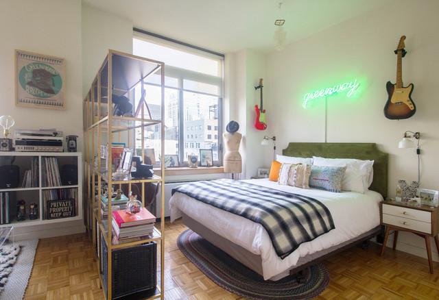 Fake A Bedroom In Studio Apartment