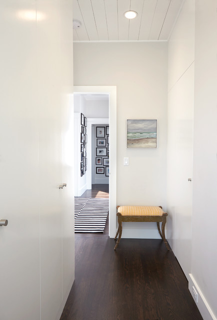 Modern Hallway Amp Hidden Closet Doors Contemporary Hall