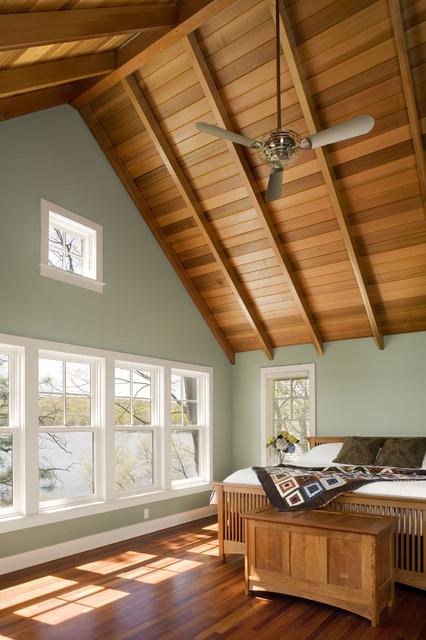 Interior and Exterior Views rustic-bedroom