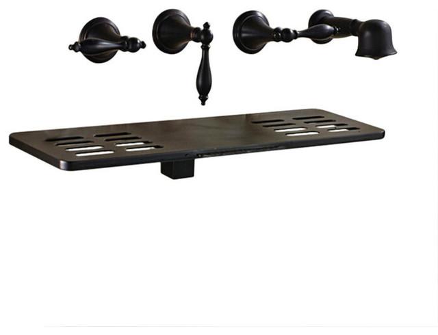 latori multifunction oil rubbed bronze wall mount bathtub faucet