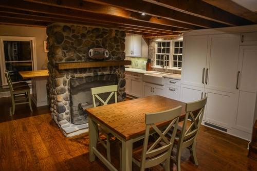 Late 1800s Farmhouse Kitchen Gut Reno