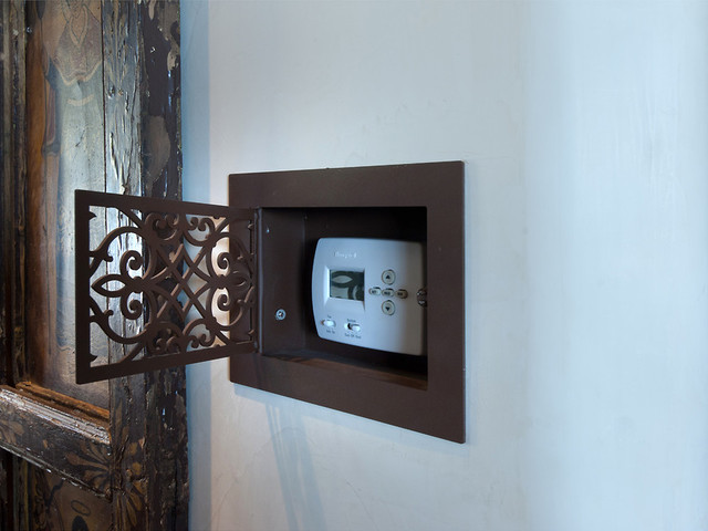 Decorative Thermostat Cover Traditional Hall Phoenix