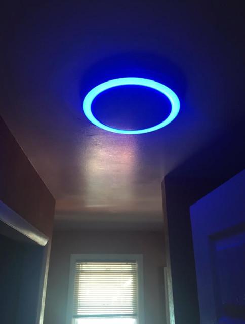 bathroom bluetooth speaker fan image