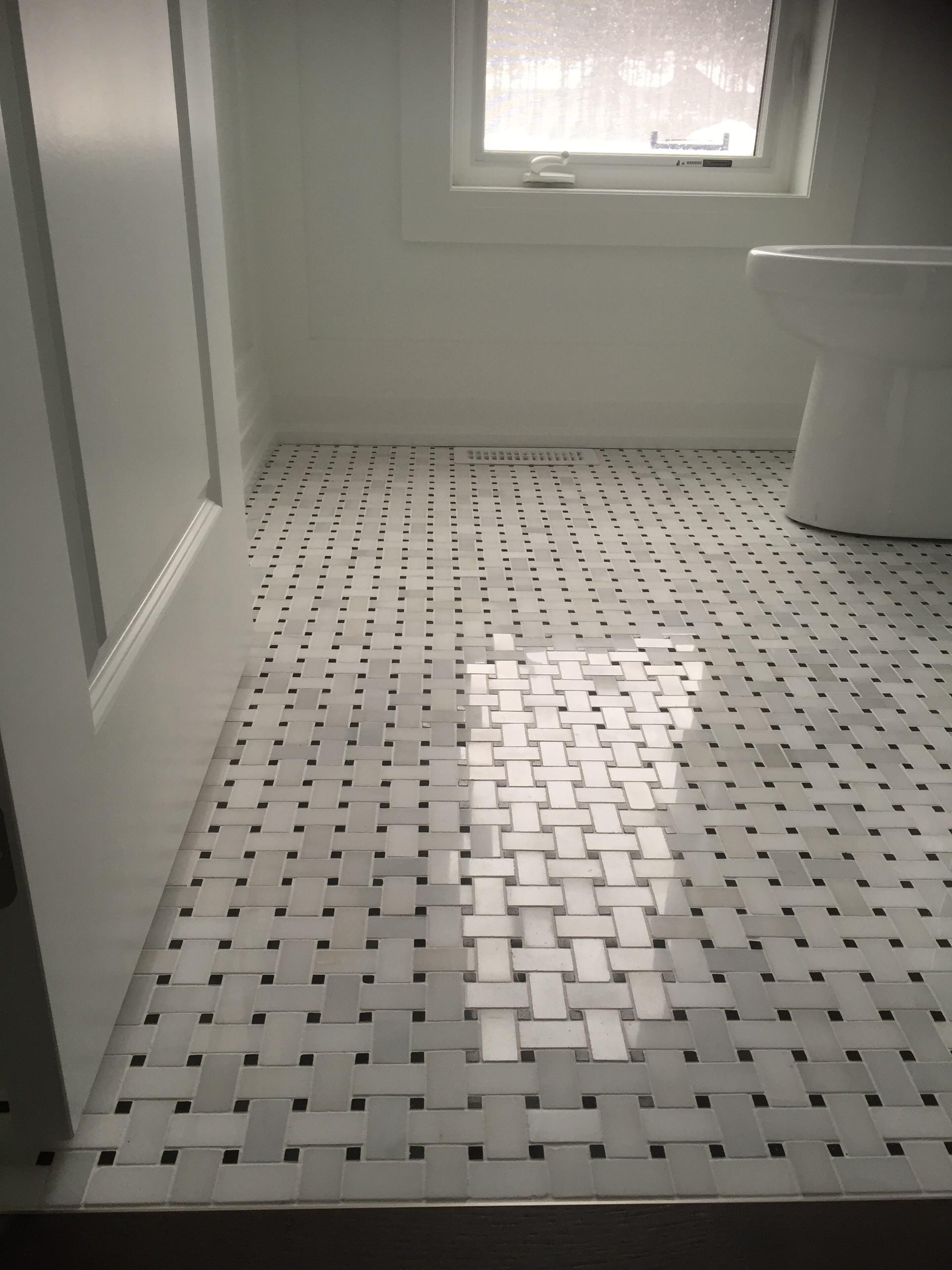basket weave tile floor ideas houzz