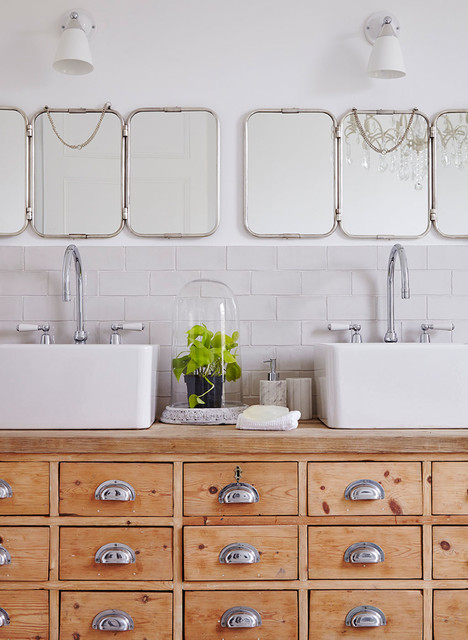 Idee Recup 10 Meubles Anciens A Detourner En Plan Vasque