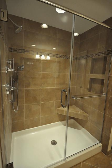 fiberglass base tile walls in