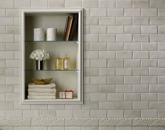 grazia melange wall tile soft palette