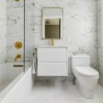 75 Beautiful Marble Floor Bathroom Pictures Ideas December 2020 Houzz