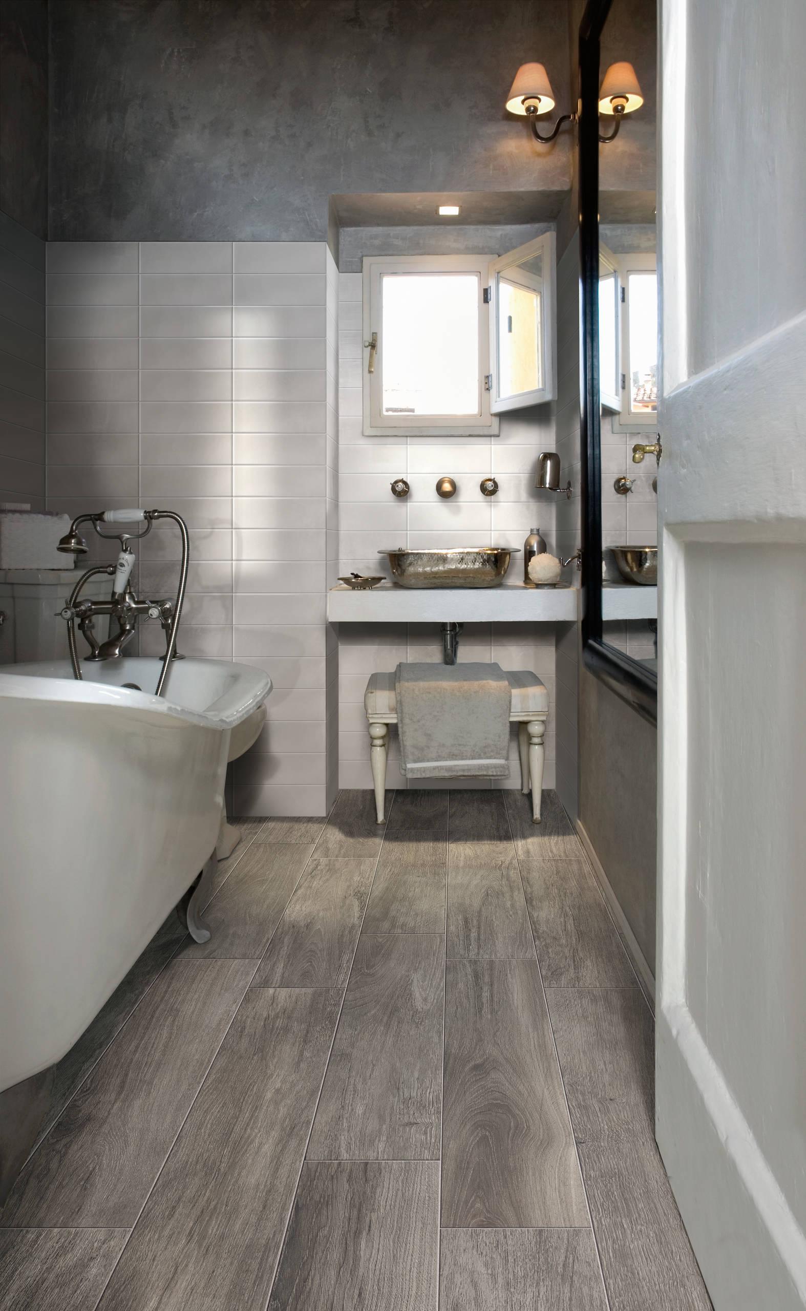 wood look porcelain tile floor houzz