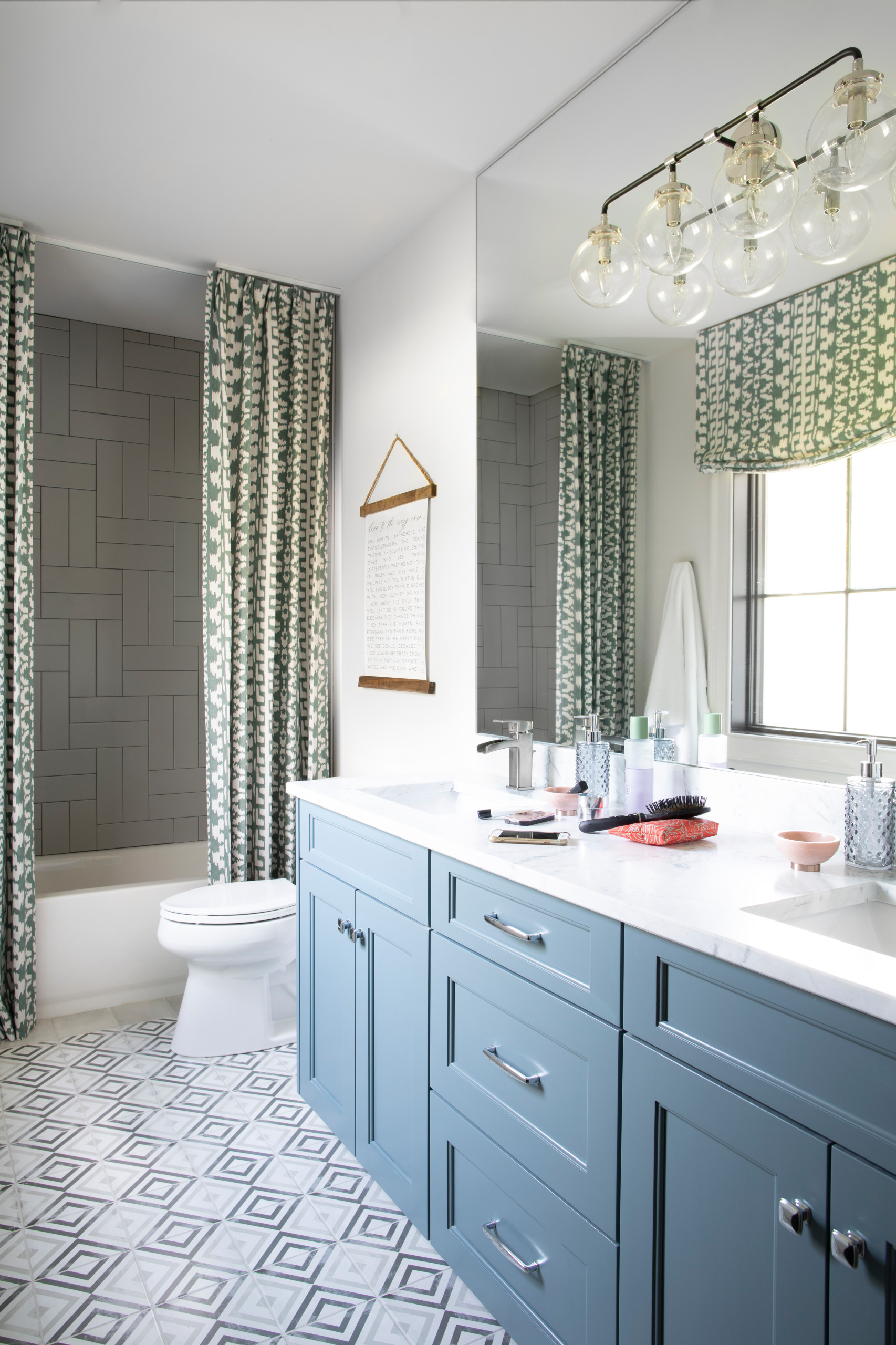 75 beautiful farmhouse shower curtain