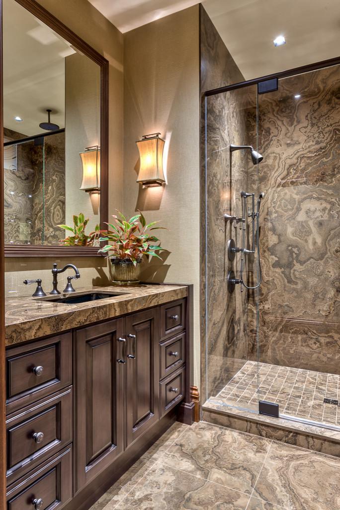 brown tile bathroom pictures ideas