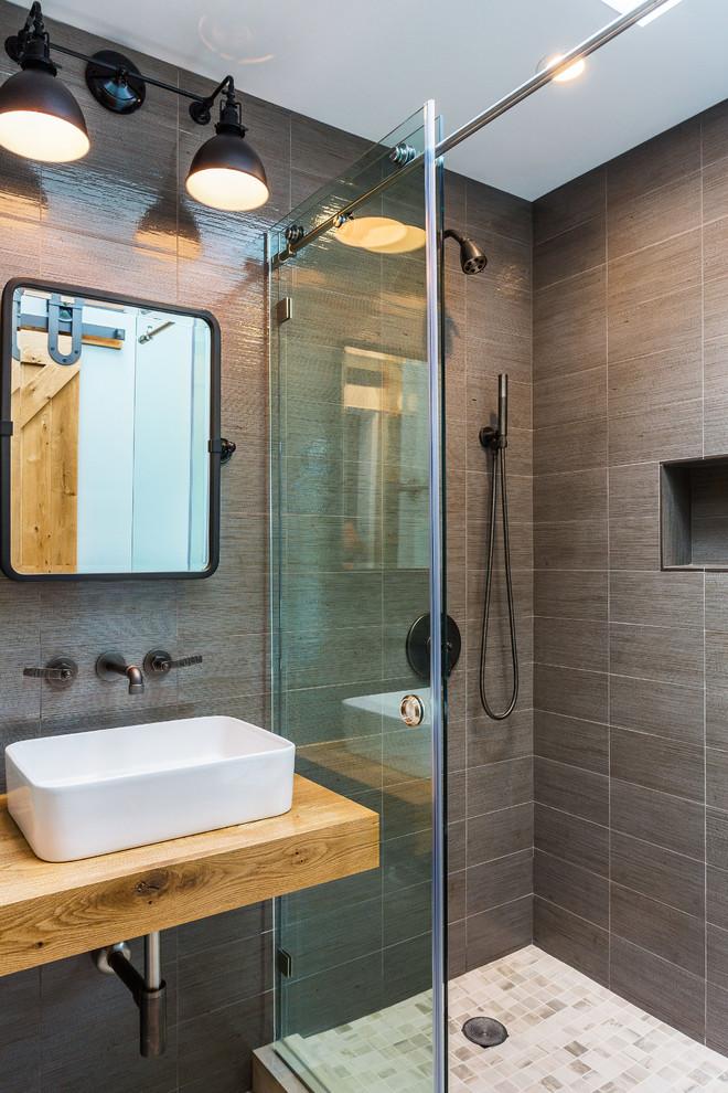 contemporary bathroom seattle