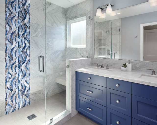 one sink or two in your master bathroom