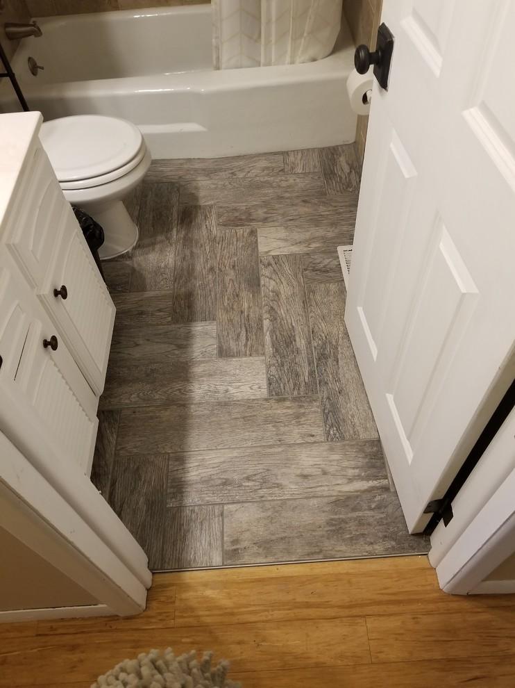tile jobs craftsman bathroom