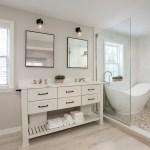 75 Beautiful Wood Look Tile Floor Master Bathroom Pictures Ideas February 2021 Houzz