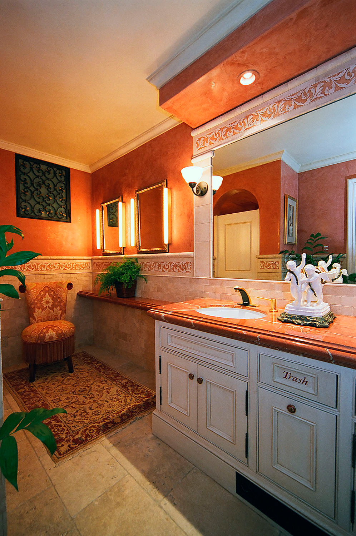75 beautiful travertine tile bathroom