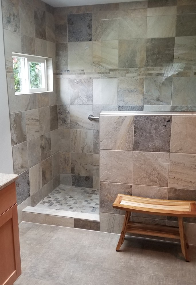 https www houzz com photos walk in shower with window transitional bathroom portland phvw vp 100796737