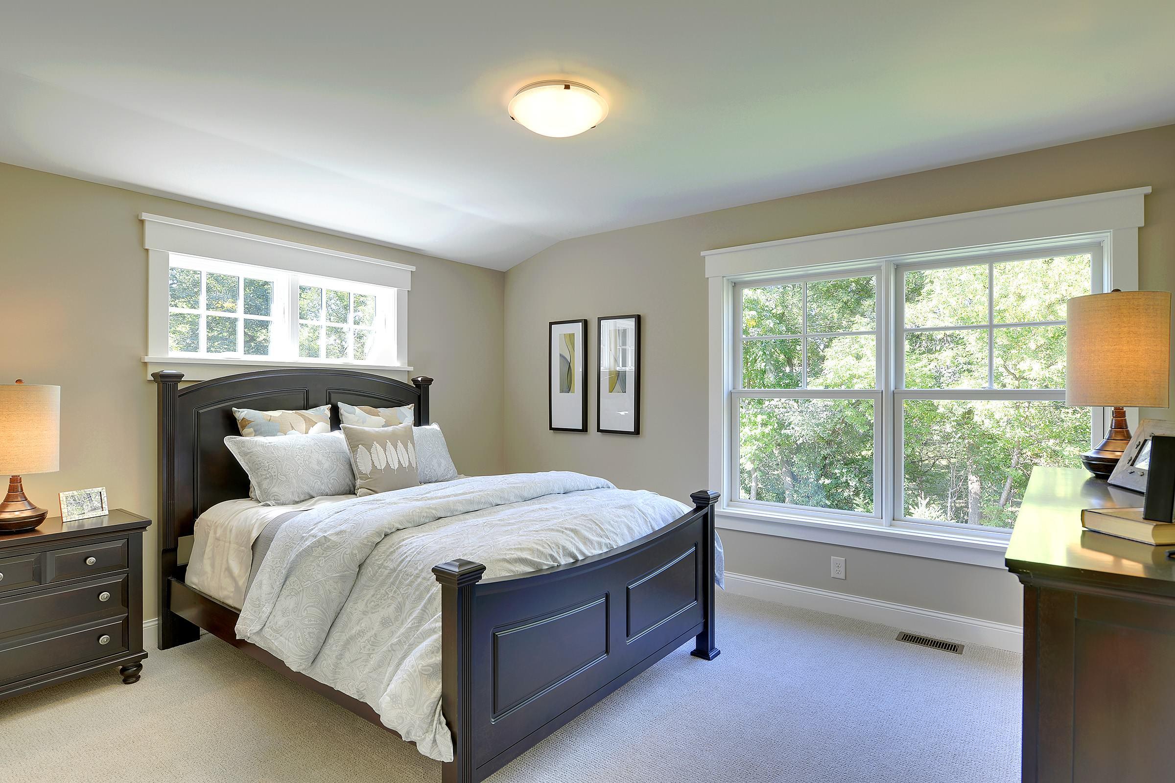 windows above bed houzz