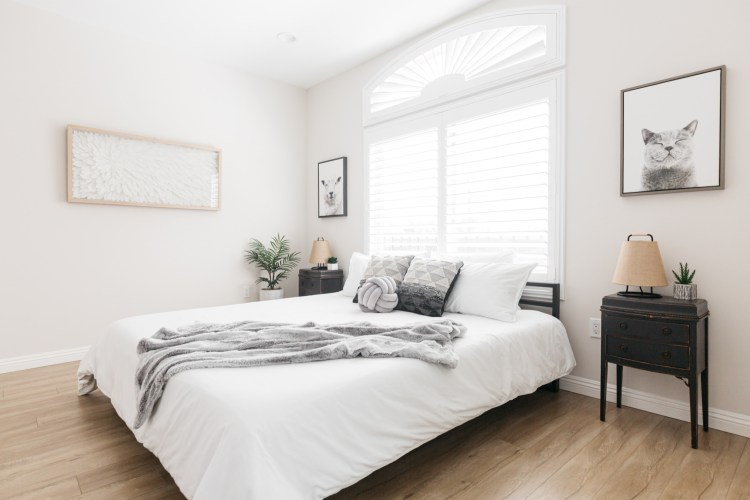 75 Beautiful Bedroom With Gray Walls Pictures Ideas January 2021 Houzz